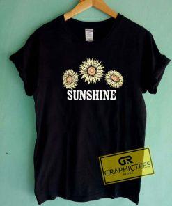 Sunshine Sunflowers Tee Shirts