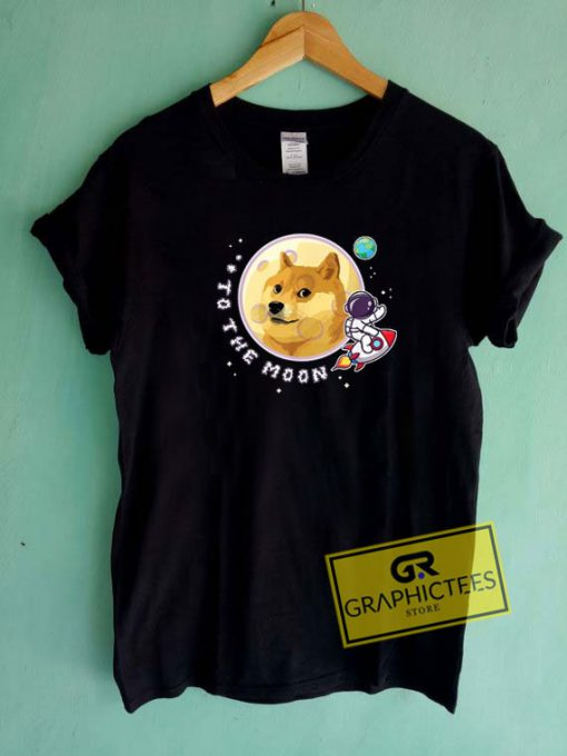 To The Moon GraphicTee Shirts