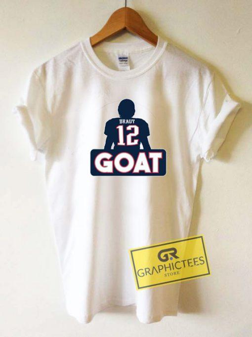 Tom Brady Goat 12Tee Shirts