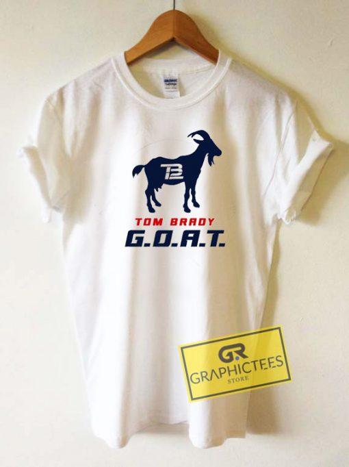 Tom Brady GoatTee Shirts