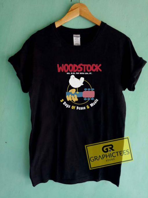 Woodstock Music Festival Tee Shirts