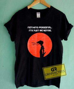 Afro Samurai Manga Quotes Tee Shirts