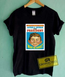 Alfred E Neuman Poster Tee Shirts