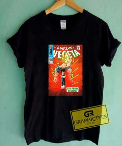 Amazing Vegeta Comic Poster Tee Shirts