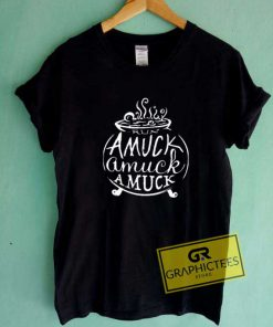 Amuck Witch Art Tee Shirts