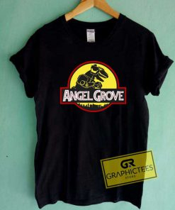 Angel Grove Jurassic Logo Tee Shirts