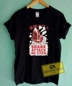 Attack On Titan Parody Tee Shirts