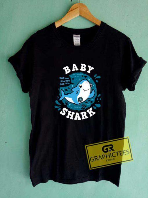 Baby Shark Pinkfong Logo Tee Shirts