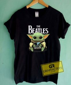 Baby Yoda And The Beatles Tee Shirts