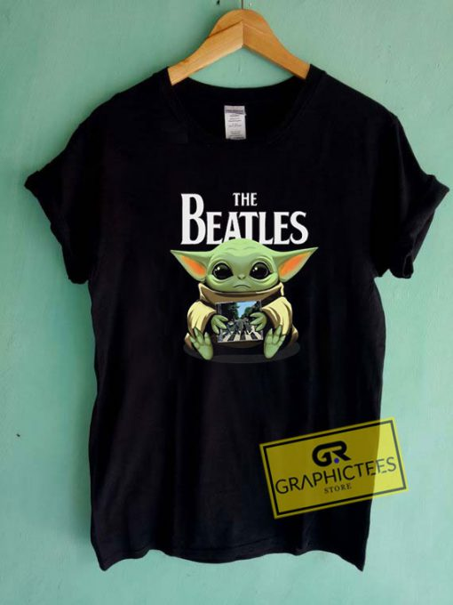 Baby Yoda And The Beatles Tee Shirts