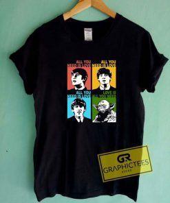 Beatles Yoda Tee Shirts