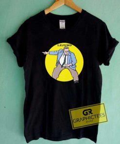 Chris Farley Lejund Draw Logo Tee Shirts