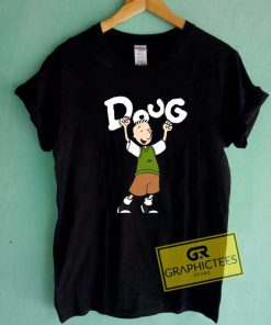 Doug Fiction Movie Cartoon Tee Shirts