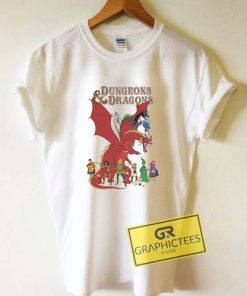 Dungeons And Dragons Tee Shirts