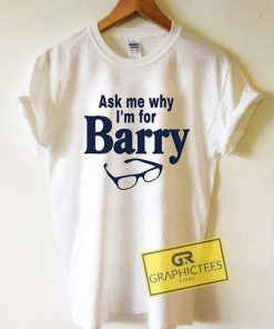 Eyeglass Im For Barry Tee Shirts