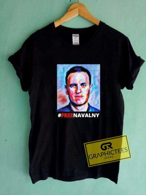 Hashtag Free Navalny Tee Shirts
