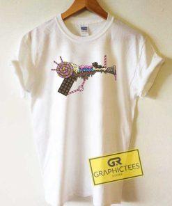Ice Cream Gun Aesthetic Tee Shirts