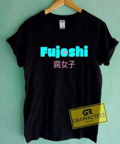 Kawaii Fujoshi Font Tee Shirts