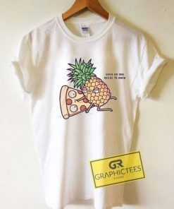 Pineapple Pizza Cartoon Meme Tee Shirts