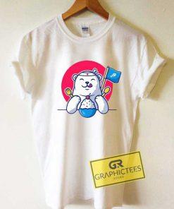 Polar Bear Want Eat Ice Cream Tee Shirts
