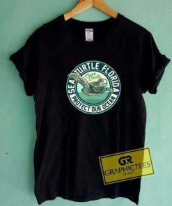 Save The Sea Turtle Tee Shirts