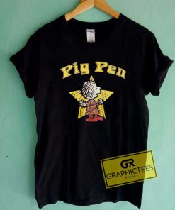 Star Pig Pen Graphic Tee Shirts