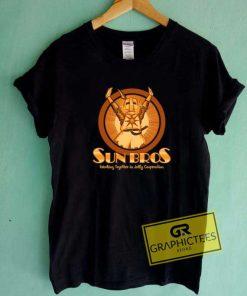 Sun Bros Logo Tee Shirts