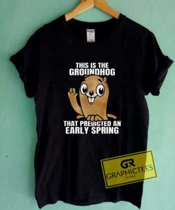 This Is The Groundhog Tee Shirts