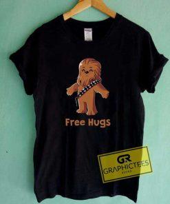 Wookiee Chewbacca Free Hugs Tee Shirts